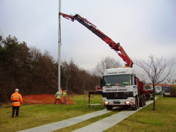 44 Ton Artic Crane Truck With Fly Jib
